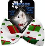 All the Presents! Pet Bow Tie