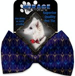 Menorah Madness Pet Bow Tie
