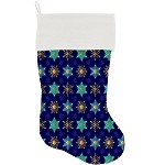 Star of Davids and Snowflakes Stocking