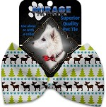 Mountain Moose Pet Bow Tie Collar Accessory with Velcro
