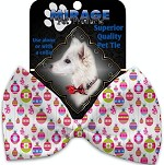 Penelopes Pretty Ornaments Pet Bow Tie Collar Accessory with Velcro