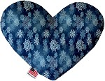 Winter Wonderland 8 inch Stuffing Free Heart Dog Toy