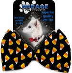 Candy Corn Pet Bow Tie