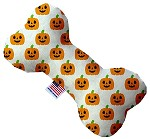Happy Pumpkins 6 Inch Bone Dog Toy