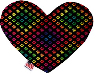 Rainbow Paws 8 inch Heart Dog Toy