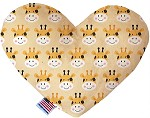Georgie the Giraffe 6 inch Heart Dog Toy