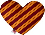 GryffinDog 6 inch Stuffing Free Heart Dog Toy