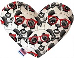 Hip Pandas 6 inch Heart Dog Toy