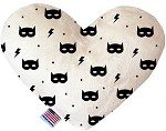Super Hero Masks 8 inch Heart Dog Toy