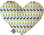 Mountain Moose 8 inch Stuffing Free Heart Dog Toy