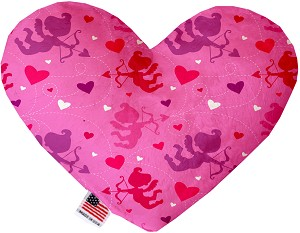 Cupid Hearts 6 inch Heart Dog Toy