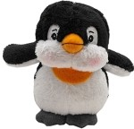 Plush Christmas Dog Toy with Squeaker Penguin