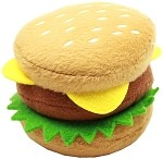 Hamburger Plush Squeaky 4