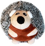Roundimal Squeaky Dog Toy Hedgehog