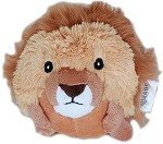 Roundimal Squeaky Dog Toy Lion