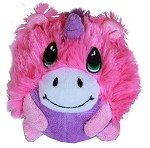 Roundimal Squeaky Dog Toy Unicorn