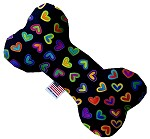 Bright Hearts 6 inch Bone Dog Toy