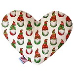 Santa Gnomes 6 inch Heart Dog Toy