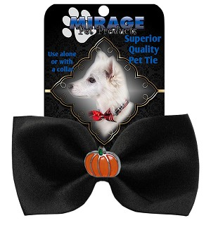 Pumpkin Widget Pet Bowtie Black
